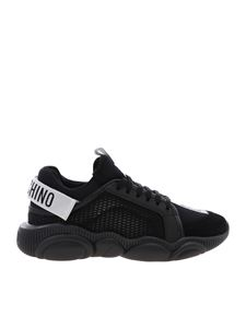 Moschino - Sneakers Teddy nere