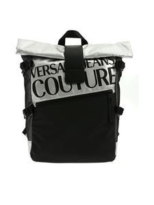 Versace - Versace Jeans Couture backpack in black and silver