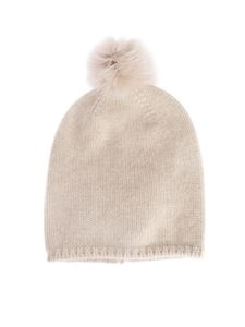 Max Mara - Crasso beanie in cream color