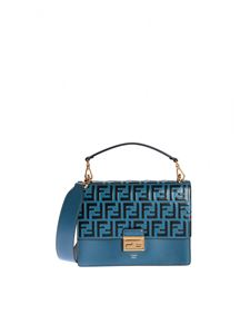Fendi - Kan I handbag in light blue