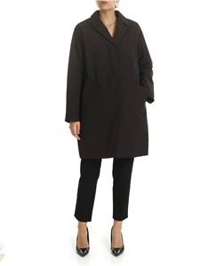 Aspesi - Marzapane overcoat in black
