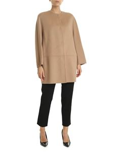 Max Mara Studio - Abazia overcoat in camel color