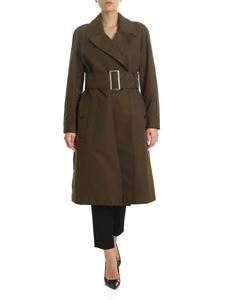 Burberry - Trench Camelford verde militare
