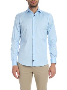Fay - Light blue cotton shirt