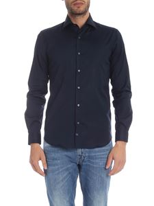 Fay - Dark blue cotton shirt