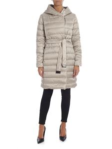 Max Mara - Novef reversible down jacket in beige