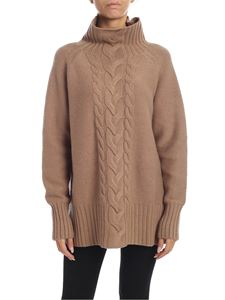 S Max Mara - Oversize pullover in brown