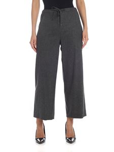 S Max Mara - Carena trousers in dark gray