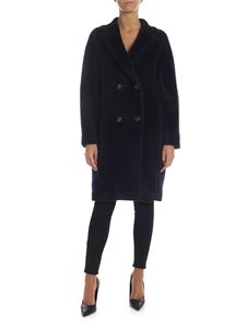 S Max Mara - Rose coat in blue