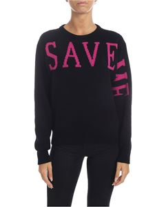 Alberta Ferretti - Save Me pullover in black