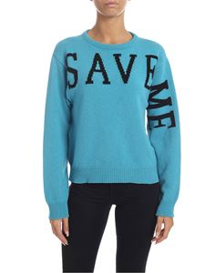 Alberta Ferretti - Save Me pullover  in light blue
