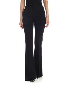 Alberta Ferretti - Flared trousers in black