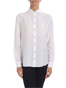 Barba - White shirt in pure silk