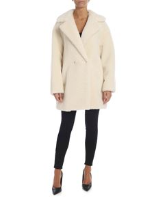 Harris Wharf London - Teddy jacket in cream color