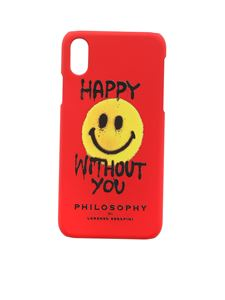 Philosophy di Lorenzo Serafini - Cover Smiley rossa con logo
