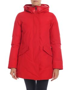 Woolrich - Artic Parka down jacket in red