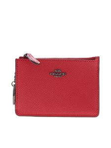 Coach - Mini Skinny coin purse in red
