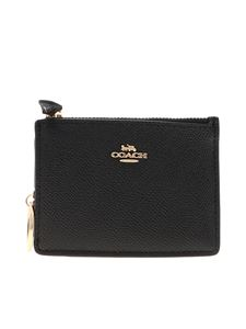 Coach - Mini Skinny coin purse in black