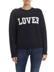 MSGM - LOVER pullover in blue