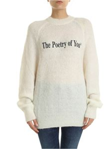 MSGM - The Poetry Of You pullover in cream color