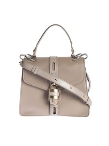 Chloé - Aby Day Medium bag in grey leather