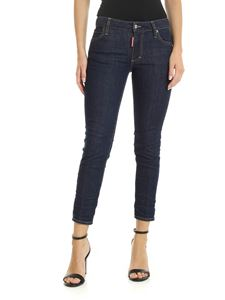 Dsquared2 - Cropped Twiggy jeans in blue