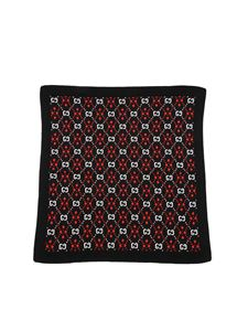 Gucci - GG monogram blanket in black