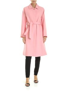 Red Valentino - Pink wool coat
