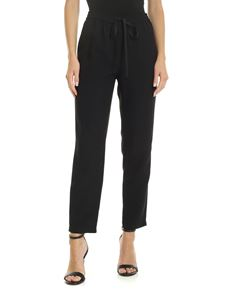 Red Valentino - High waist trousers in black