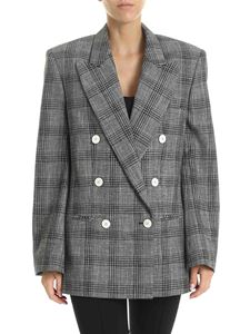 Isabel Marant - Deagan jacket in black and white