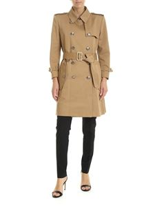 Givenchy - Beige trench coat with 4G silver buttons