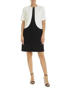 Givenchy - Wool dress in black and white