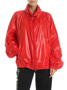 Givenchy - Technical fabric jacket in red