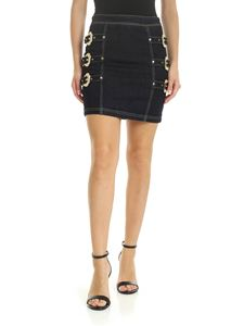 Versace - Versace Jeans Couture skirt in blue denim