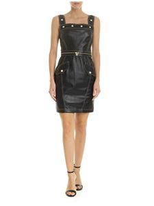 Versace - Versace Jeans Couture dress in black eco-leather