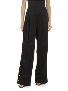 Versace - Versace Jeans Couture palazzo trousers in black
