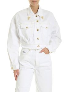 Versace Jeans Couture - Denim jacket in white
