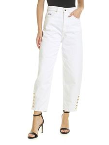 Versace - Versace Jeans Couture Bull Ramsey jeans in white