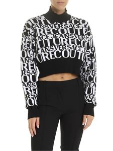 Versace - Versace Jeans Couture high collar pullover in black