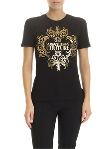 Versace - Versace Jeans Couture printed t-shirt in black