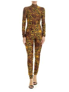 Versace - Versace Jeans Couture animal printed jumpsuit