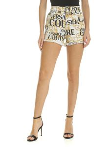 Versace - Versace Jeans Couture printed denim shorts