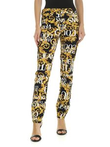 Versace - Versace Jeans Couture printed jeans in black