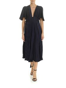 Golden Goose Deluxe Brand - Hana dress in blue viscose