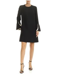 Valentino - Black dress with contrasting details