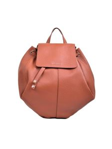 Orciani - Orciani branded backpack in tobacco color
