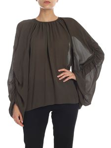 Rochas - Pippa blouse in Army green