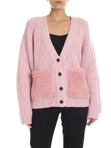 Rochas - Alpaca and wool cardigan in pink
