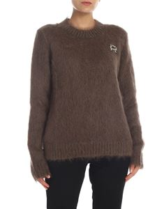 Rochas - Mohair pullover in brown