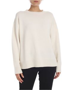 Sofie D'Hoore - Cashmere pullover in ivory color